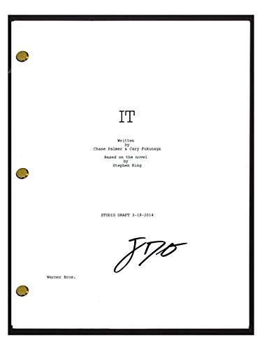 Jack Dylan Grazer Signed Autographed SHAZAM Movie Script Screenplay COA from Unknown
