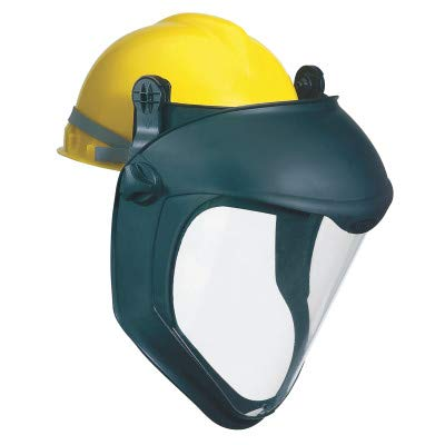 Uvex by Honeywell S8505 Bionic Face Shield with Hard Hat Adapter, Clear/Black