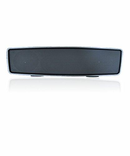 Persang Karaoke PK9700 Bluetooth Speaker with Receiver  Silver