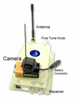 Smallest Hidden Wireless Camera Completed product image