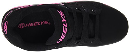 4 US Pink Shoe M Kid Black Toddler Little Big Big Heelys Propel Kid Skate Kid 7qwxqv1T