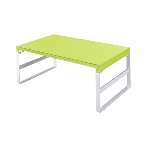 LIHIT LAB Desktop Stand (Monitor Stand), Yellow Green, 9.8 x 15.4'' x 6.3'' (A7331-6) by LIHITLAB