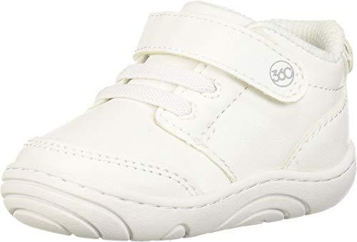 Stride Rite Baby SR Taye 2.0 Sneaker, White, 4 M US Toddler