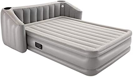Amazon Com Bestway Wingback Queen Air Mattress With Built In Ac