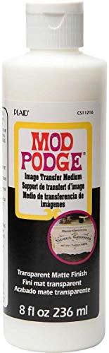 Mod Podge CS11216 Transfer Medium, Clear, 8 oz ()