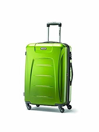 Samsonite Winfield 3 Fashion Spinner Luggage, Orange (Brushed), Checked-Large Samsonite Corporation - CA 75392-1641