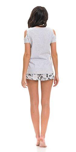 dn-nightwear - Pijama - para mujer gris