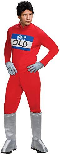 Rubie's Men's 2 Derek Zoolander's Hello My Name is Costume, As As Shown, Standard -
