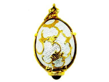 Faberge Style LOCKET EGG for sale  Delivered anywhere in USA