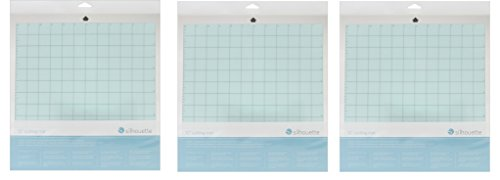 Silhouette Cameo, WpJXpc 3 Pack (Cameo Replacement Cutting Mat) by Silhouette