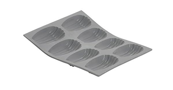 Amazon.com: Molde de silicona molde, 6 porciones madeleines ...
