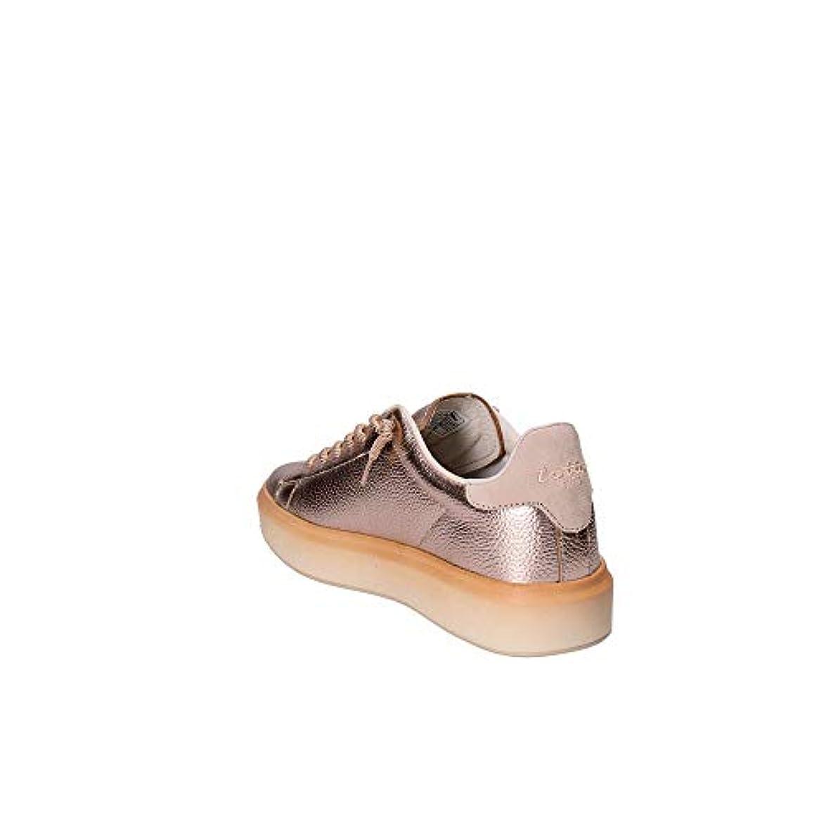 Lotto Scarpe Leggenda T7415 Argento Rosa Zeppa Donna Moda Sneakers Style