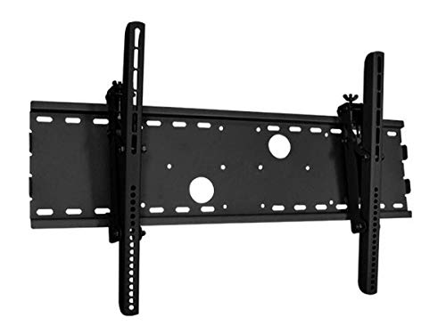 Monoprice Titan Series Tilt TV Wall Mount Bracket - Black | No Logo, TVs 37 Inch to 70in, Max Weight 165lbs, VESA Patterns Up to 750x450, UL - Series 165