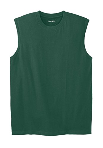 KingSize Lightweight Cotton Muscle Shirt, Hunter Tall-2Xl by KingSize (Image #3)