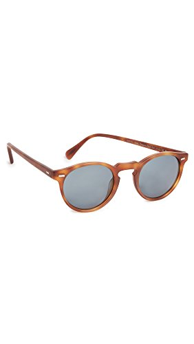 Oliver Peoples Eyewear Men's Gregory Peck Sunglasses, Indigo, One Size (Peck Olivers Gregory People)