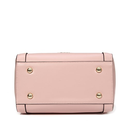 Handbag Shoulder Gray Blue Bags Handle Fashion Light Kadell Shopping Clutches with Pink Strap Women Ladies Top S8fn1Xq
