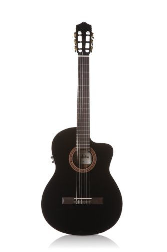 Cordoba C5-CETBK Thinbody Acoustic Electric Nylon String Classical Guitar