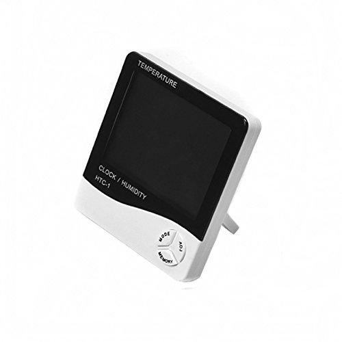 UTP Indoor Room LCD Electronic Digital Alarm Clock Thermometer temperature Humidity Hygrometer Meter