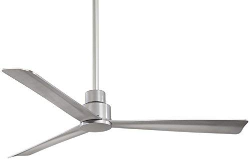 Minka-Aire F787-SL, Simple 52 Ceiling Fan, Silver Finish