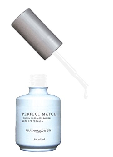 French Gin - LECHAT Perfect Match Nail Polish, Marshmallow Gin, 0.500 Ounce