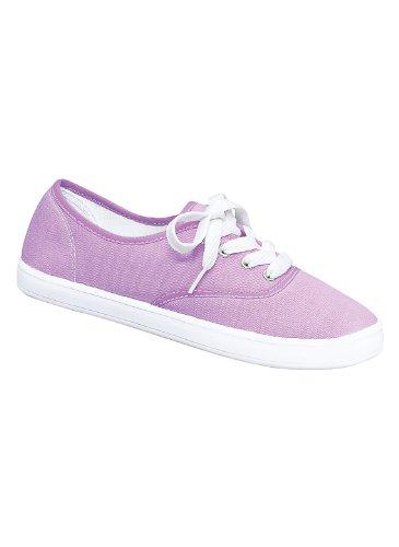 Sneaker Classique Pour Femme, Lilas, Taille 7 (large)