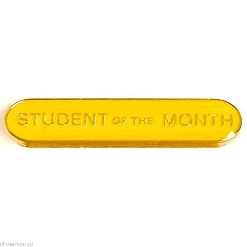Étudiant mois du Badge Idéal pour les écoles (Jaune)