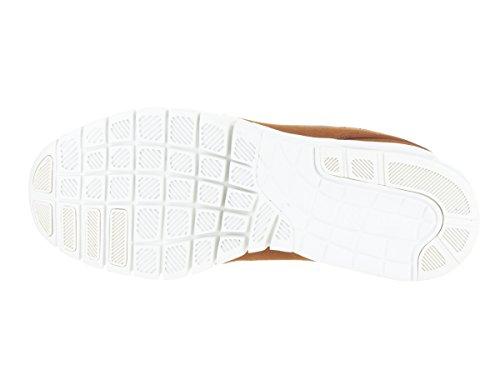 Nike Uomo Stefan Janoski Max Mid Skate Scarpa Nocciola / Nero-avorio
