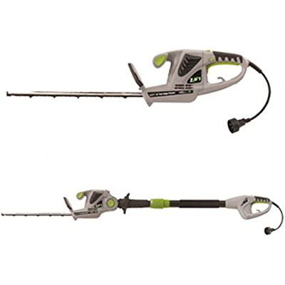 Earthwise 18-Inch 2.8-Amp Corded Electric 2-in-1 Pole/Hand-held Hedge Trimmer