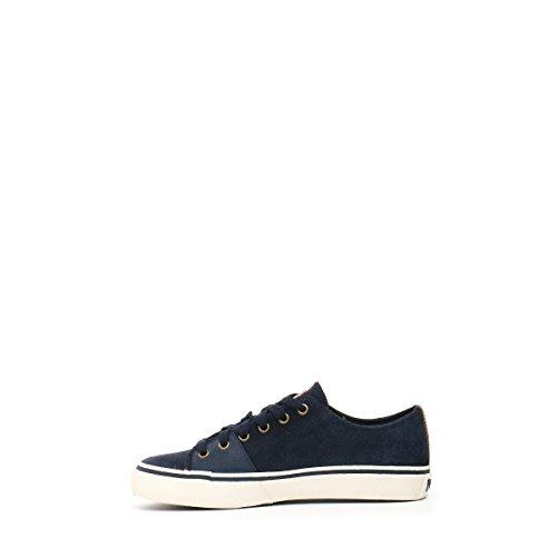 Polo Ralph Lauren Herren Sneaker Velours Chucks Unifarben Blu