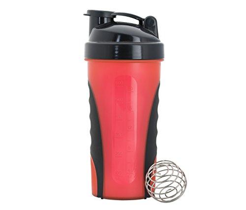 IShake Grip Strong Plastic Sports Shaker Bottle 600 ml
