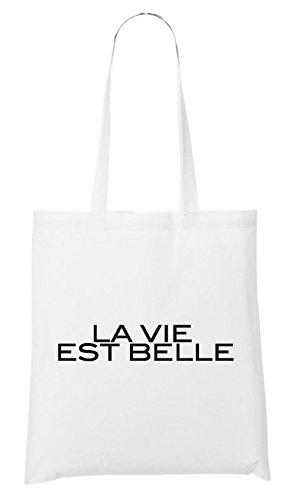 Belle La Sac Est Vie Blanc 8A0wFpq