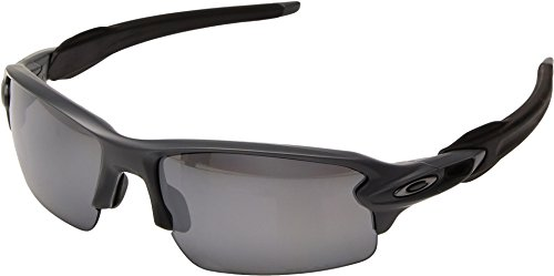 Oakley  Men's MPH Flak 2.0 Polarized Matte Heather Grey/Black One - Oakleys Polarized