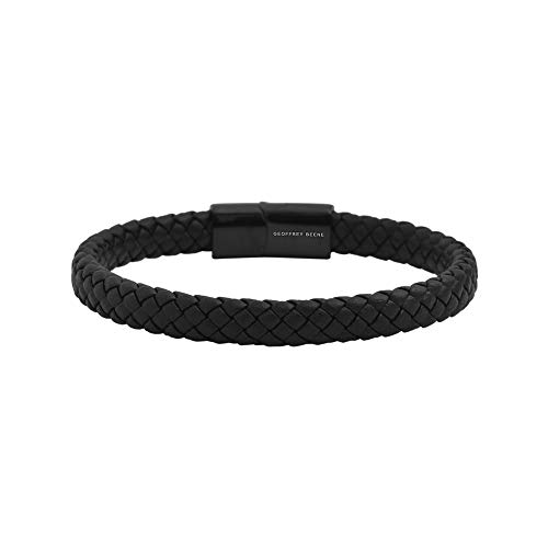 Check expert advices for mens leather bracelets braided stainless steel?