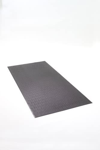 SuperMats Solid Construction Cardio Equipment Mat 14GS for Commercial Applications