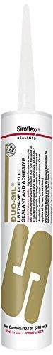 Siroflex DS2408 DUO-SIL Urethane Acrylic Caulk, Heather Gray by Siroflex