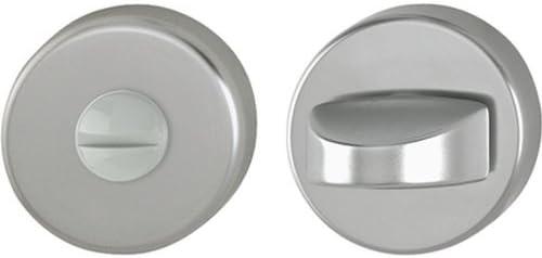 Hoppe Bad//WC-Rosette Paar Aluminium 42KVS