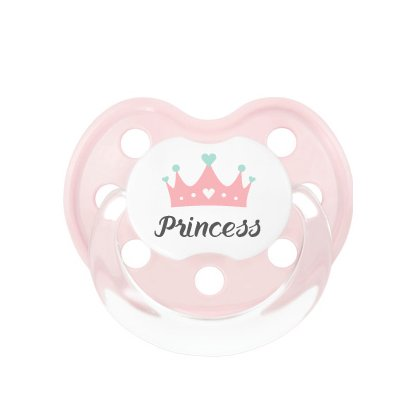 Princess - Chupete - + 6 M - Chupete anatómico de silicona ...
