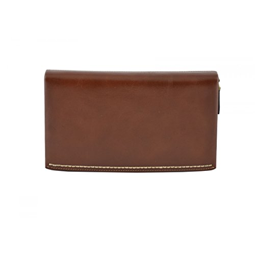 Leather Leather Real Bag Clutch Italy Bags Man Brown Real In Dream Throws Italy Leather Fur Made Unisex Artificial In qXwdxdT