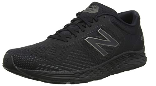 New Balance Men's Arishi V2 Fresh Foam Running Shoe, Black/Black, 10.5 D US