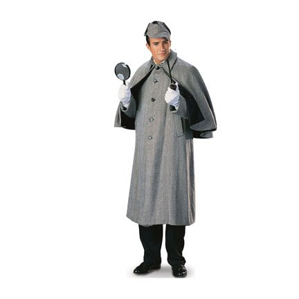 H99244 Sherlock Holmes Fictional Character Cardboard Cutout Standee Standup