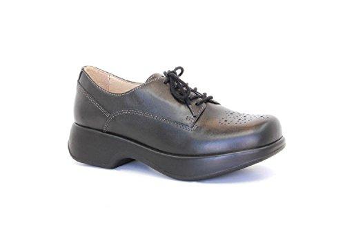 Dromedaris Womens Sade Black Shoes pVmXh
