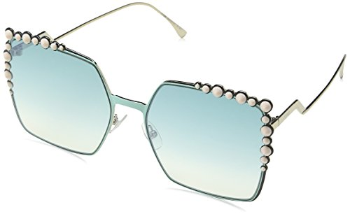 Fendi Sunglasses 0259/S 01ED With Green Yellow - Sunglasses Women Armani Giorgio
