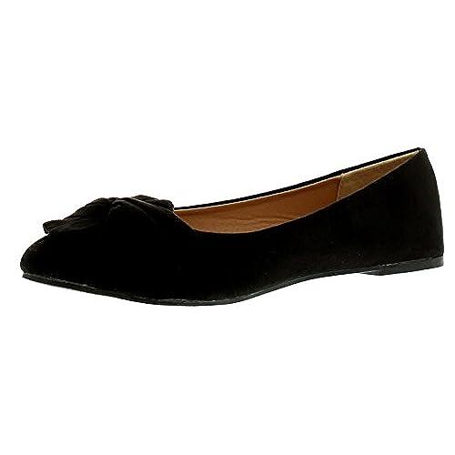 e4085ff7 Envio gratis Apache Mujer Liso Puntiagudo Ballet Zapato de Estilo con  Microfibra Superior drapeado Tela,