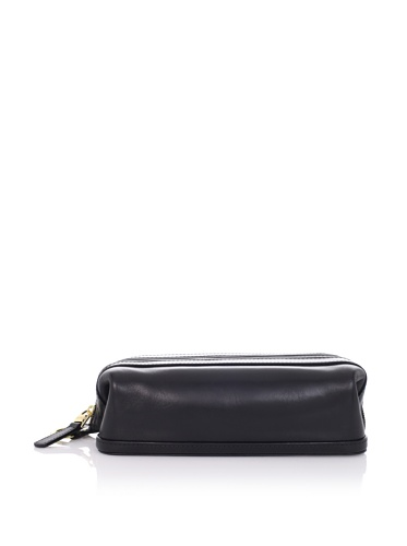 Bosca Old Leather Zipper Utility Kit (BLK ) by Bosca