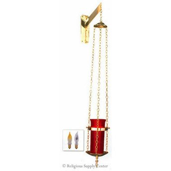 - Religious Supply Wall Bracket Electric Sanctuary Lamp