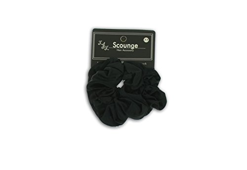 Big Satin Scrunchy 1601730 (Black)