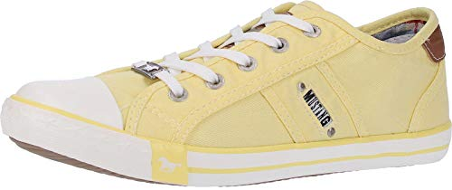 6 Basses Jaune Mustang 1099 302 6 gelb Femme Sneakers SqEYxw