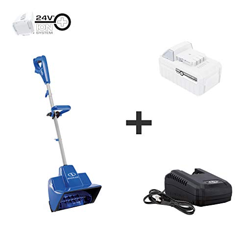 Snow Joe 24V-SS11-XR 24-Volt 11-Inch 5-Ah Cordless Snow Shovel, Kit (w/5-Ah Battery + Quick Charger)