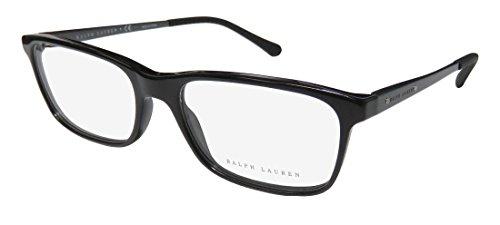 Ralph Lauren RL6134 Eyeglass Frames 5617-55 - 55mm Lens Diameter Black - Ralph Glasses Frames Mens Lauren