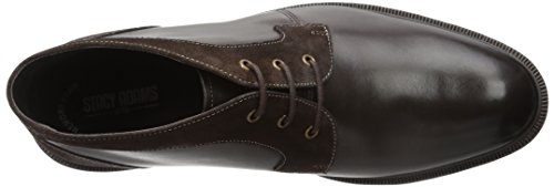 Stacy Adams Mens Delaney Chukka Laars Bruin